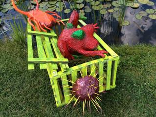 Hahn gardens full of new whimsy