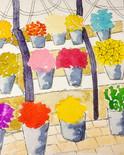 Paris flower stall