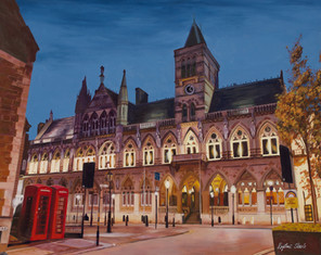 Evening Glow at the Guildhall