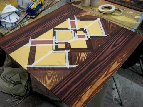 Mimicking wood