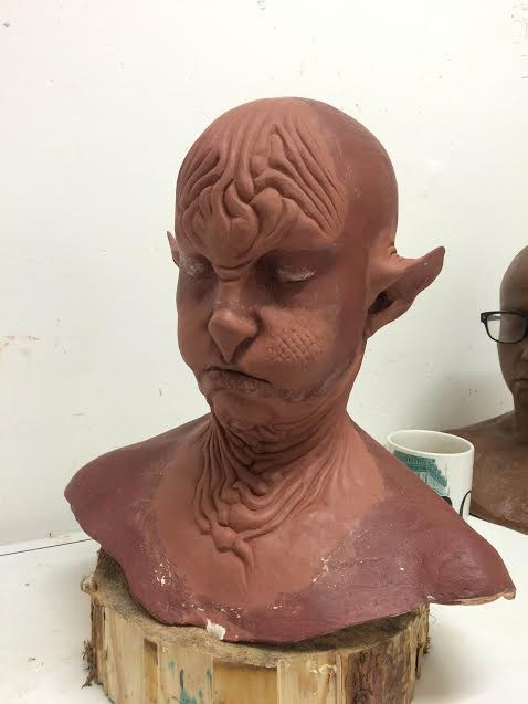 Prosthetics sculpt.