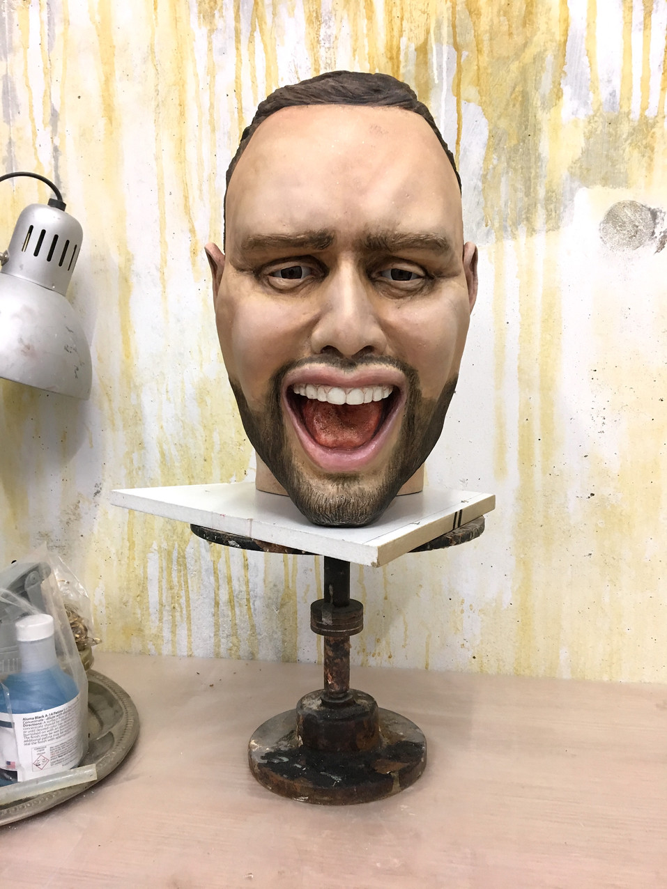 Scooter Braun - look-a-like head sculpt.- Entertainment Executive