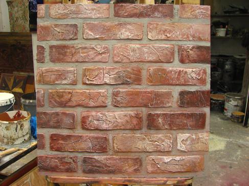 Mimicking wall textures