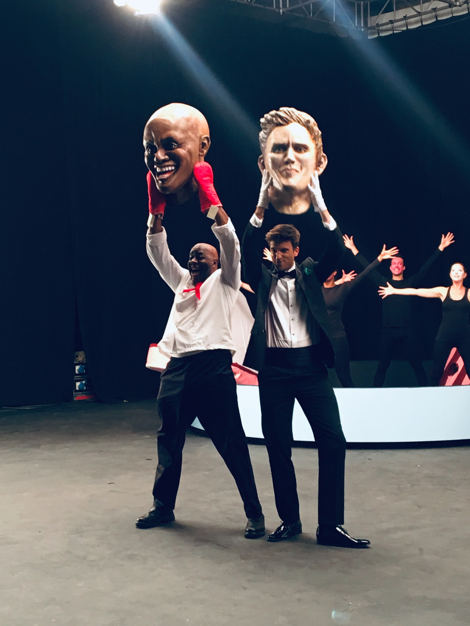BBC production for Greg James & Ainsley Harriott