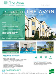 Holiday Home Rental Promo Print