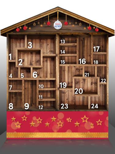 Render Tesco Christmas Calendar