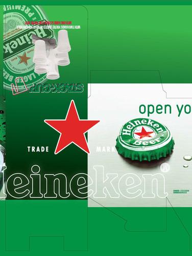 Heineken box