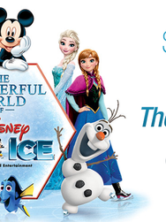 Disney on Ice Website Slider