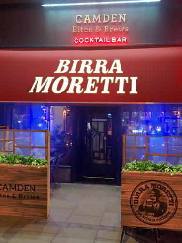 RENDER Birra Moretti Camden Bites & Brews