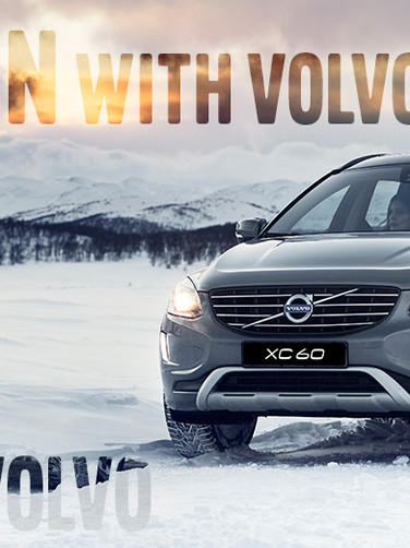 Volvo Promo Slider Header