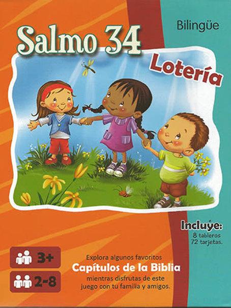 BINGO SALMO 34 BILINGUE