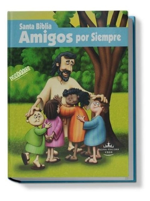 BIBLIA RVR023CE AMIGOS POR SIEMPRE CELESTE