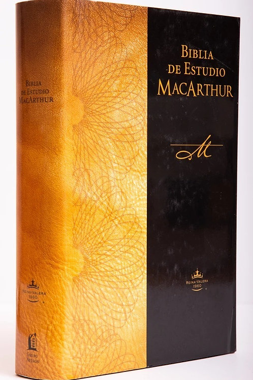 BIBLIA DE ESTUDIO MACARTHUR RVR TAPA DURA