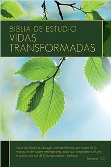 Biblia de estudio vidas transformadas