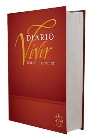 BIBLIA DE ESTUDIO DIARIO VIVIR LG TAPA DURA