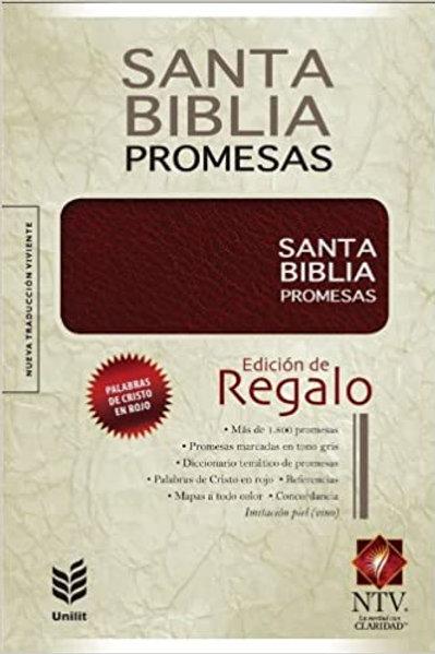BIBLIA DE PROMESAS NTV- PREMIO REGALO VINO