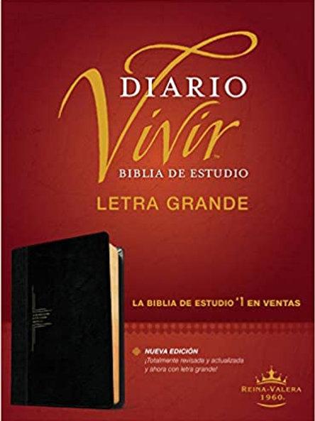 BIBLIA DE ESTUDIO DIARIO VIVIR LG NEGRO