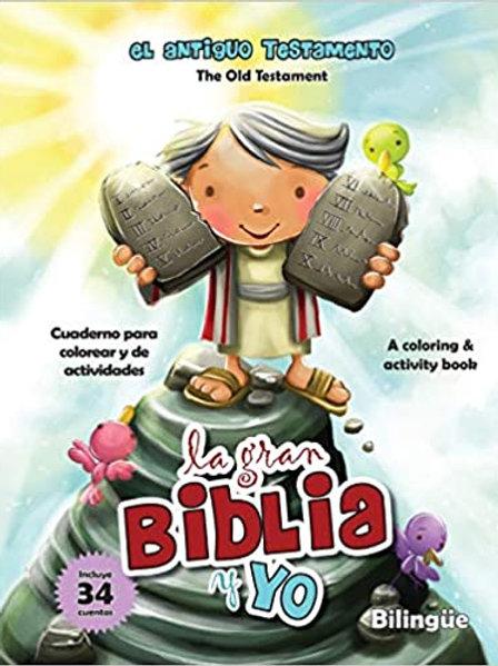 GRAN BIBLIA Y YO ANTIGUO TEST - CUADERNO P/COLOREAR, LA