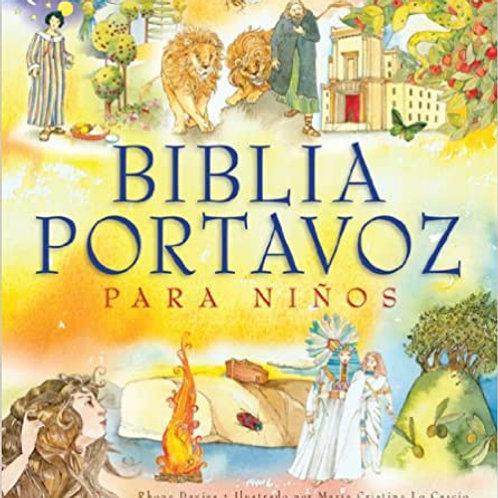 BIBLIA PORTAVOZ PARA NIÑOS TAPA DURA