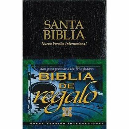 BIBLIA DE REGALO NVI SIN INDICE NEGRO