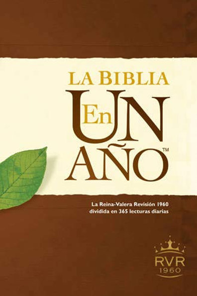 BIBLIA EN UN AÑO RVR1960 TD (TYNDALE)