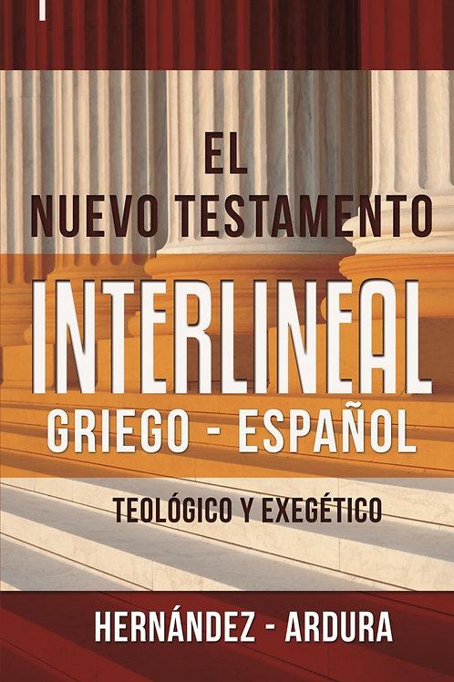 El nuevo testamento interlineal griego - español |  Hernandez Ardura