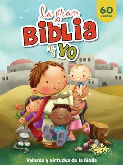 GRAN BIBLIA Y YO NUEVO TEST - CUADERNO P/COLOREAR, LA