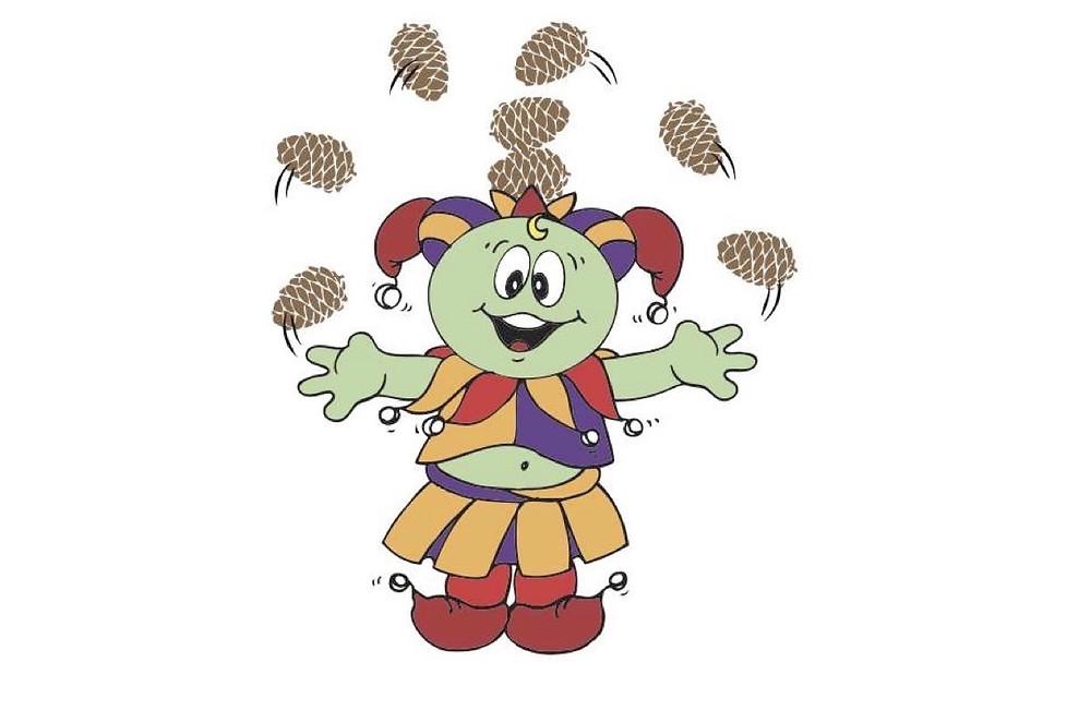 JOCOMO juggling pinecones