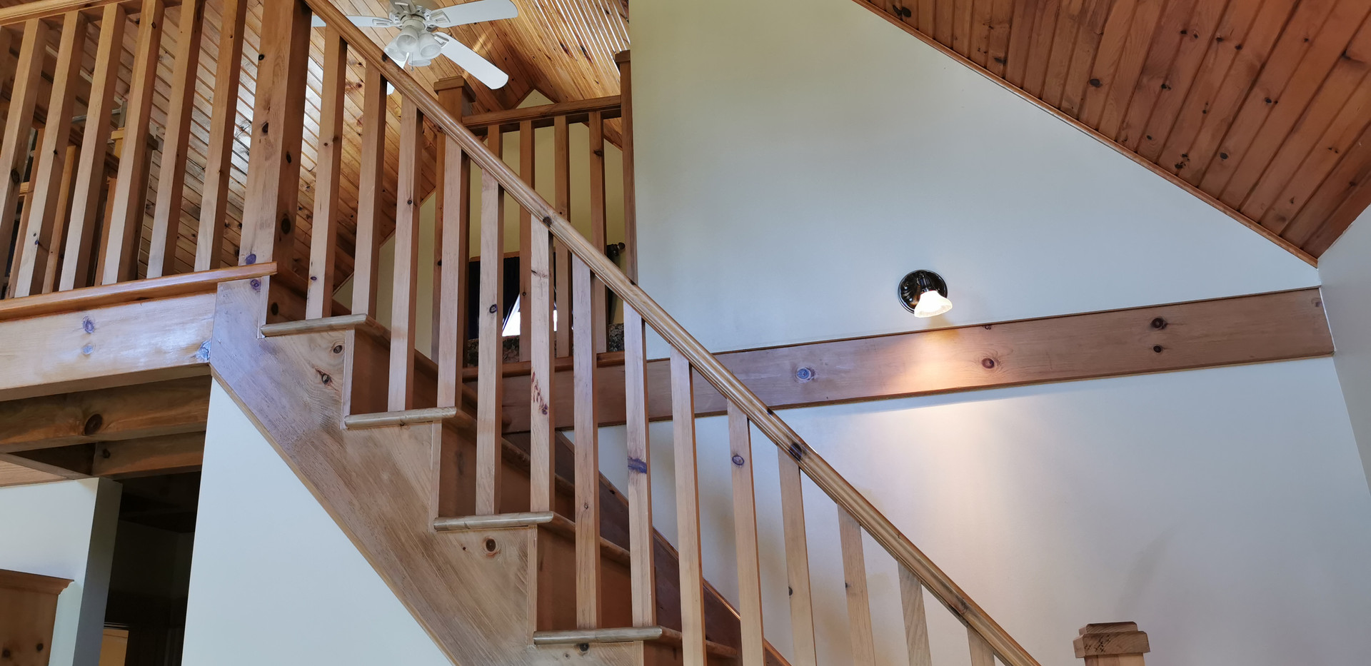 Stair to the loft