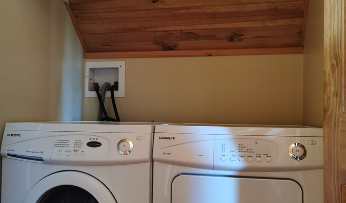 In-room washer & dryer