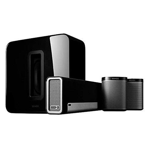Sonos-Sub Wireless Subwoofer - Black & Sonos - PLAYBAR Soundbar Wireless Speaker