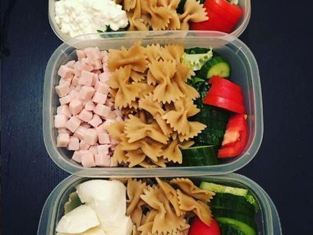 Bien manger passe aussi par de l'organisation:  3 repas en 15 minutes ⏰