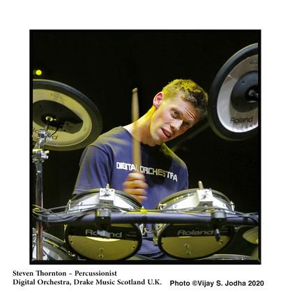4 Steven Thornton – Percussionist Digita