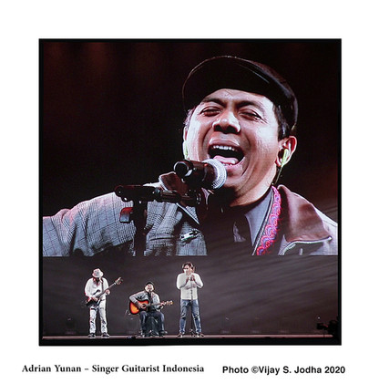 9 Adrian Yunan  Singer Guitarist Indones