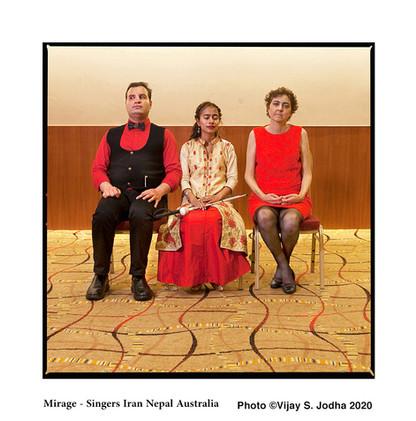3 Mirage - Singers Iran Nepal Australia.