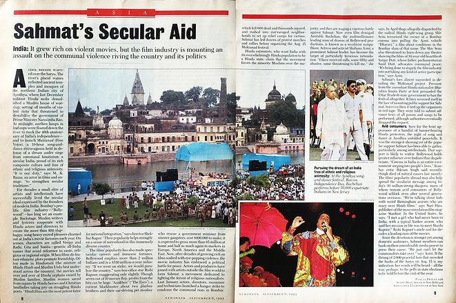 Sahmat Hum Sab Ayodhya Coverage 1993- Ne