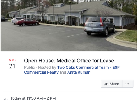 Yup, Open Houses (Offices) are still a thing!