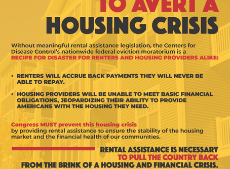 Eviction Protection is Needed...But so is Rental Assistance