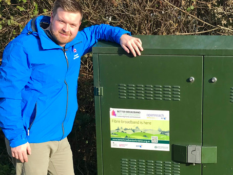 Oxfordshire hits 95% superfast broadband coverage ahead of schedule