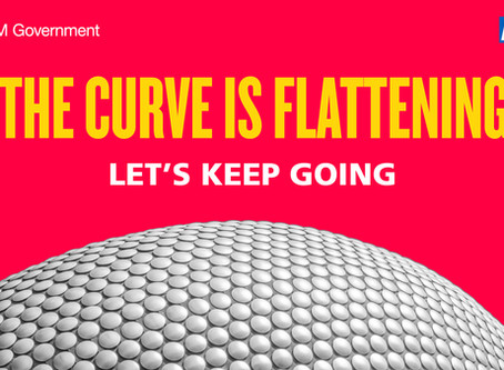 We are flattening the curve, but we need to keep going