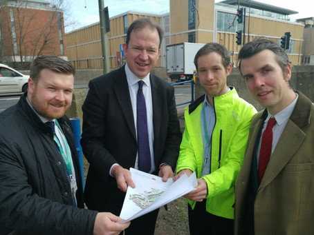 Minister finds out about Oxfordshire cycling vision