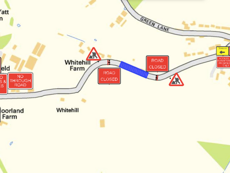 Road Closure - New Yatt Road, North Leigh