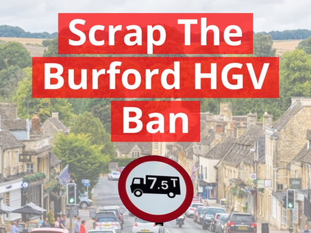 Less than a week to comment on Burford HGV ban