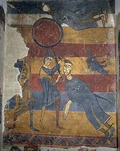 David and Goliath from Santa Maria de Ta