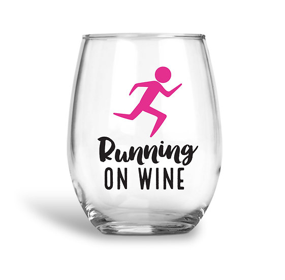 Running On Wine Glass
