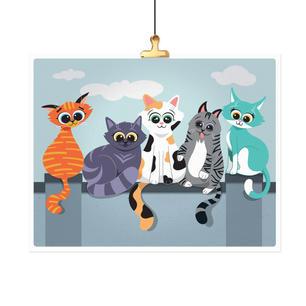 CatsOnAFence-Hanging.jpg