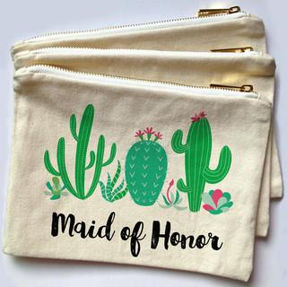 Cactus Make Up Bag