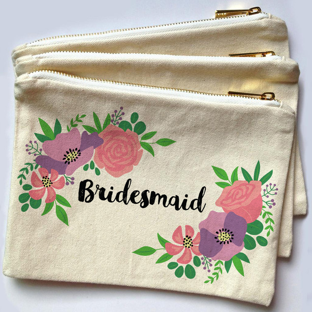 Floral Make Up Bags