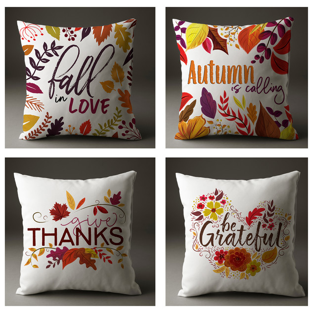 Thanksgiving Pillow Cases