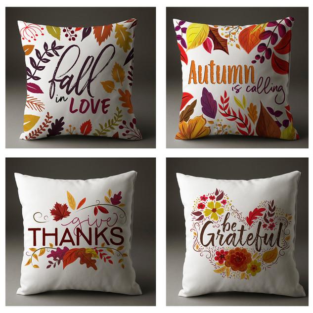 Thanksgiving Pillow Cases